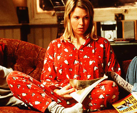 Bridget-Jones-Natale-pigiama